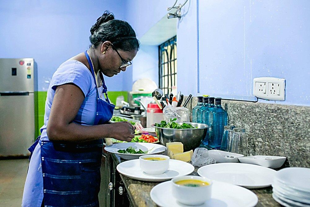 Joanita at Work